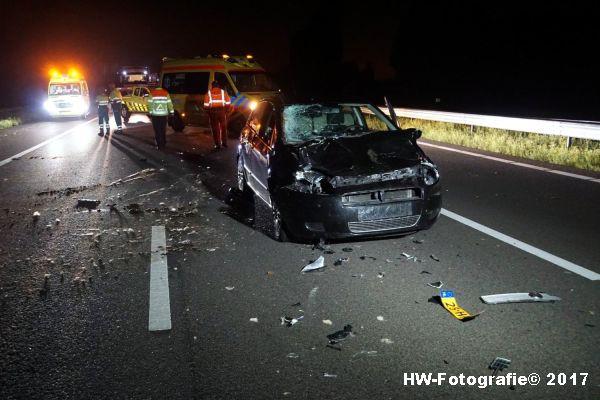 Henry-Wallinga©-Aanrijding-Auto-Koe-A28-Zwolle-09