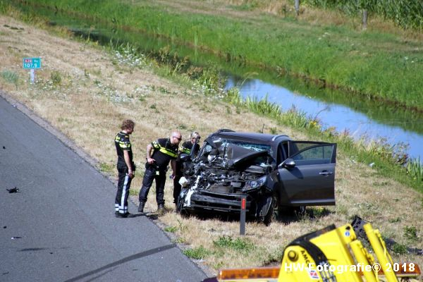 Henry-Wallinga©-Ongeval-Auto-Vrachtauto-A28-Staphorst-14