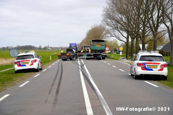 Henry-Wallinga©-Ongeval-Vrachtwagen-Auto-Dijk-N331-Zwartsluis-09