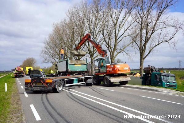 Henry-Wallinga©-Ongeval-Vrachtwagen-Auto-Dijk-N331-Zwartsluis-12