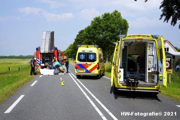 Henry-Wallinga©-Ongeval-Zomerdijk-Tractor-Busje-Zwartsluis-01