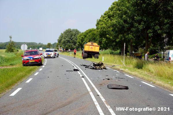 Henry-Wallinga©-Ongeval-Zomerdijk-Tractor-Busje-Zwartsluis-06