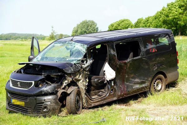 Henry-Wallinga©-Ongeval-Zomerdijk-Tractor-Busje-Zwartsluis-11