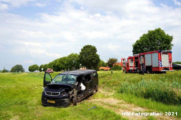 Henry-Wallinga©-Ongeval-Zomerdijk-Tractor-Busje-Zwartsluis-12
