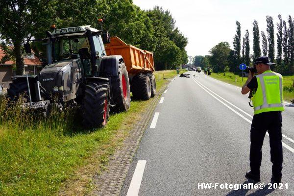 Henry-Wallinga©-Ongeval-Zomerdijk-Tractor-Busje-Zwartsluis-14