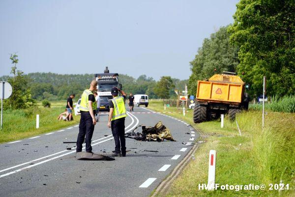 Henry-Wallinga©-Ongeval-Zomerdijk-Tractor-Busje-Zwartsluis-18