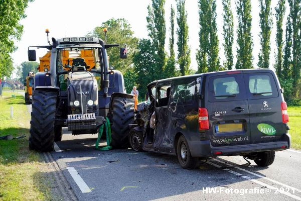 Henry-Wallinga©-Ongeval-Zomerdijk-Tractor-Busje-Zwartsluis-24
